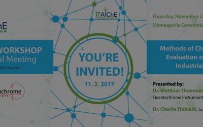 Breakthrough Curve Presentations at the AIChE 2017 Annual Meeting November 2nd