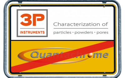 Quantachrome GmbH & Co. KG turns into 3P INSTRUMENTS