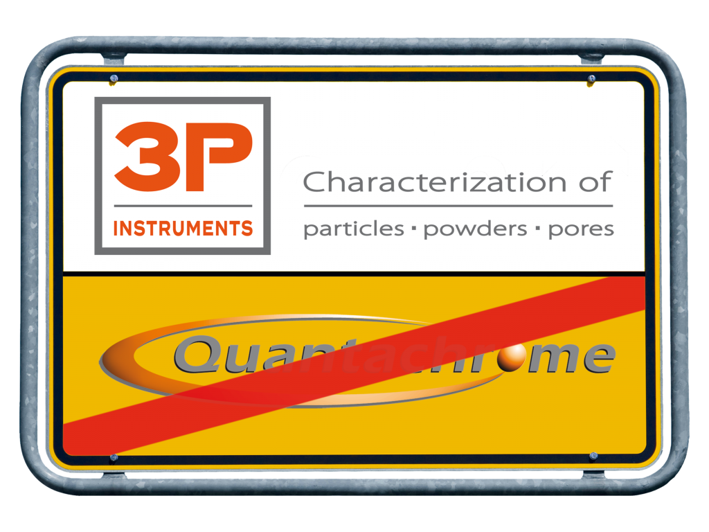 Quantachrome GmbH turns into 3P Instruments